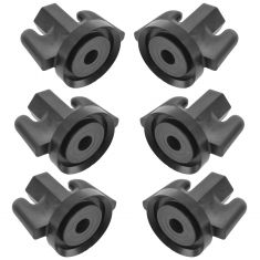90-92 Mnco; 88-92 Eagle Premr 05-14 Chrysler; 05-14 Ddge Mltft Tllght Wing Nut Set of 6(MP)