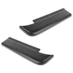94-01 Dodge Ram 1500; 94-02 250,0 3500 Rear Step Bumper Molded Plastic Upper Step Pad Pair (Mopar)