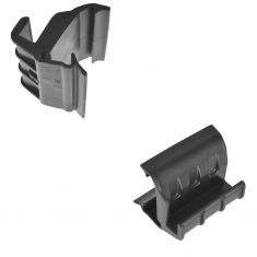07-15 Jeep Wrangler (2 or 4dr) w/Soft Top Rear Window Retainer Pair (Mopar)