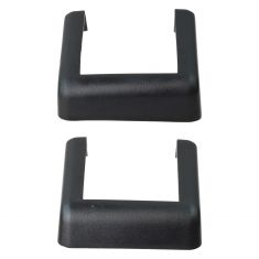 07-15 Jeep Wrangler Body Mounted Molded Upper & Lower Hinge Cover Pair (Mopar)