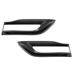 14-16 Jeep Grand Cherokee SRT-8 Gloss Black Outer Taillight Trim Bezel Molding PAIR (Mopar)