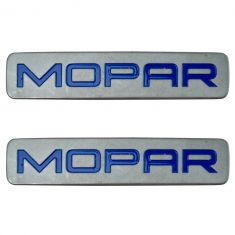 11-12 Journey; 11-16 Charger; 15-16 300; 15-16 Challenger Key Fob Mounted ~Mopar~ Decal Pair (MP)