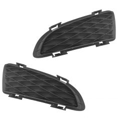 03-05 Mazda6 (w/o Fog Lights) Front Bumper Mounted Driving/ Fog Light Cover Insert Pair (Mazda)