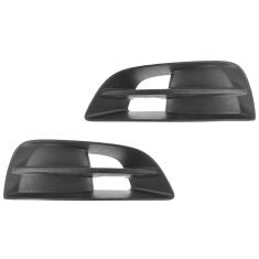 10-13 Nissan Altima Coupe (w/o Fog Lights) Driving Fog Light Blackout Cover/Bezel Pair(Nissan)