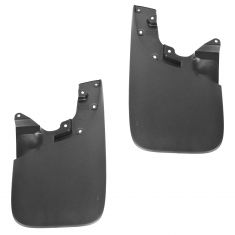 05-15 Toyota Tacoma Molded Black Plastic (Type 1 - 19 Inch) Front Mud Flap Pair (Toyota)