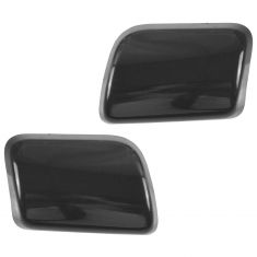03-06 Volvo XC90 Front Bumper Mounted PTM Headlight Washer Cover Pair (Volvo)