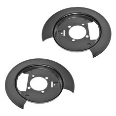 97-05 GM Mid Size Truck Rear Disc Brake Dust Shield PAIR (LH & RH)