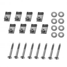 04 Ford F150 New Body; 05-12 F150 (w/8 Foot Bed) Bed Mounting Hardware Kit (Set of 8)