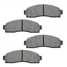 01-05 Explorer Ranger Mountaineer Semi-Metallic Brake Pads Front (Except Sport)