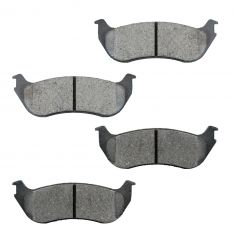 2002-05 Explorer Mountaineer Brake Pads Rear (Except Sport)