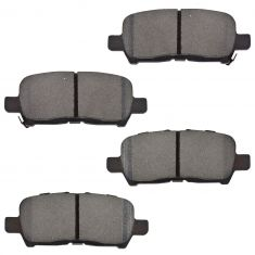 05-08 Buick Lacrosse, Allure; 04-08 Pontiac Grand Prix Brake Pads Rear