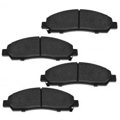 04-08 Canyon, Colorado; 06 Isuzu I-280, I-350; 07-08  I-290, I-370 Front Brake Pad Set