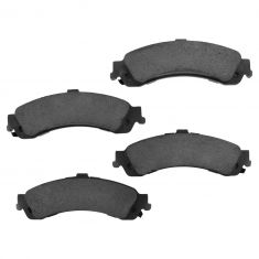 99-10 GM Full Size Truck Professional Grade Ceramic Brake Pads Rear