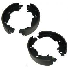 Premium Bonded Rear Brake Shoe Set (AUTO EXTRA AXS729)