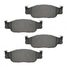 Ceramic Enhanced Metallic Disc Pads FRONT (AUTO EXTRA AXCD805)