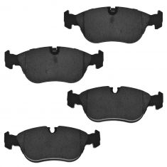 Front Ceramic Disc Brake Pads (AXCD618)