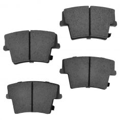 Rear Ceramic Disc Brake Pads (Auto Extra AXCD1057)