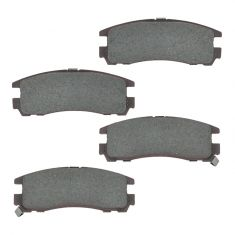 Rear Ceramic Disc Brake Pads (Auto Extra AXCD383)