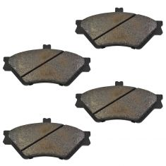 Front Semi-Metallic Disc Brake Pads (Auto Extra AXMD678)