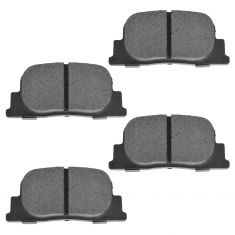 Rear Semi-Metallic Disc Brake Pads (MD835)