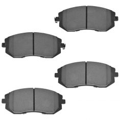 Front Semi-Metallic Disc Brake Pads (MD929)