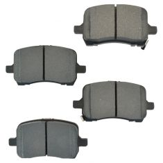 Front Semi-Metallic Disc Brake Pads (MD1028)