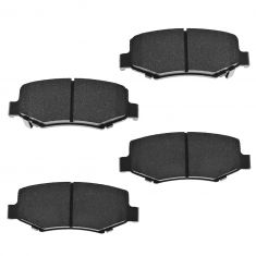 07-11 Dodge Nitro; 08-12 Jeep Liberty; 07-11 Wrangler Semi-Metallic Rear Disc Brake Pads (MD1274)