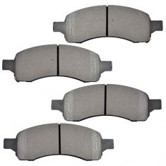 Front Semi-Metallic Disc Brake Pads (MD1169)