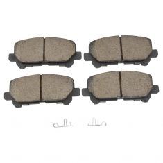 Rear Ceramic Disc Brake Pads (CD1281)