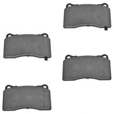Front Ceramic Disc Brake Pads (CD1001)