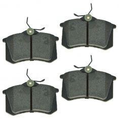 Rear Semi-Metallic Disc Brake Pads (MD340)