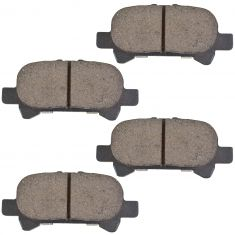 Rear Ceramic Disc Brake Pads (CD828)