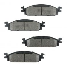 Front Semi-Metallic Disc Brake Pads (MD1376)