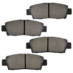 Rear Ceramic Disc Brake Pads (CD672)