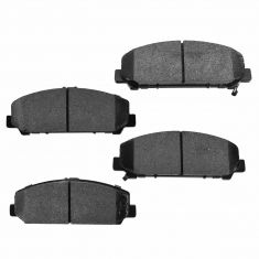 Front Semi-Metallic Disc Brake Pads (MD1286)