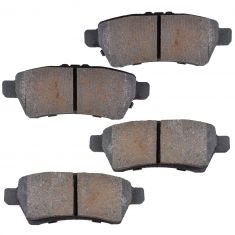 Rear Semi-Metallic Disc Brake Pads (MD1101)