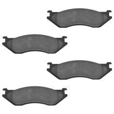 Front Ceramic Disc Brake Pads (CD966)