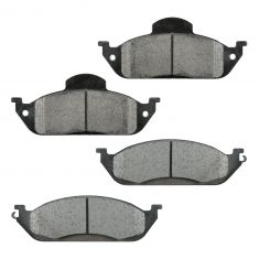 Front Semi-Metallic Disc Brake Pads (MD760)