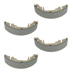 96-07 Chrysler, Dodge, Plymouth Mini Van Rear Brake Shoe Set (S714)