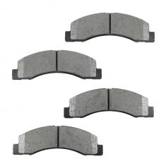 Front Semi-Metallic Disc Brake Pads (MD824)