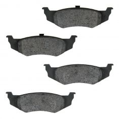 Rear Semi-Metallic Disc Brake Pads (MD759)