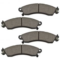 Front Ceramic Disc Brake Pads (CD412)