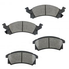 Front Ceramic Disc Brake Pads (CD506)