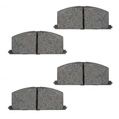 Front Semi-Metallic Disc Brake Pads  (MD242)