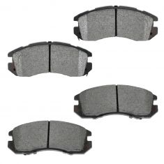 Front Semi-Metallic Disc Brake Pads  (MD470)
