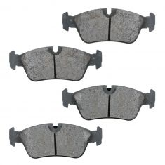 Front Semi-Metallic Disc Brake Pads  (MD781)