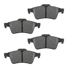 Rear Semi-Metallic Disc Brake Pads  (MD973)