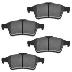 Rear Ceramic Disc Brake Pads  (CD973)