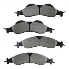 Front Semi-Metallic Disc Brake Pads (MD1278)