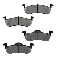 Rear Semi-Metallic Disc Brake Pads (MD1279)